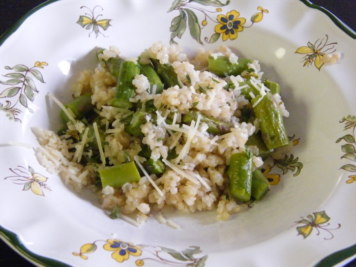 asparagasrisotto