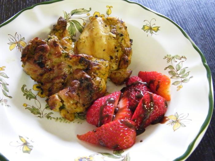 easternmarinatedchickenchocstrawberries