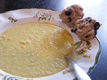 kefir blueberry & pecan spelt muffins