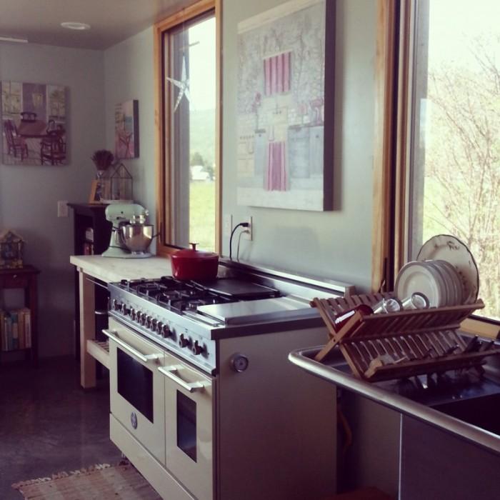 bertazzoni oven range